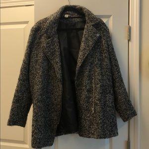 H&M Women's Boucle Coat, Size 12